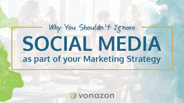 Include social media as part of your marketing strategy